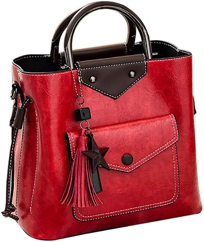COPPEN Women Big Tassel Pendant Handbag Casual Shoulder Diagonal Package