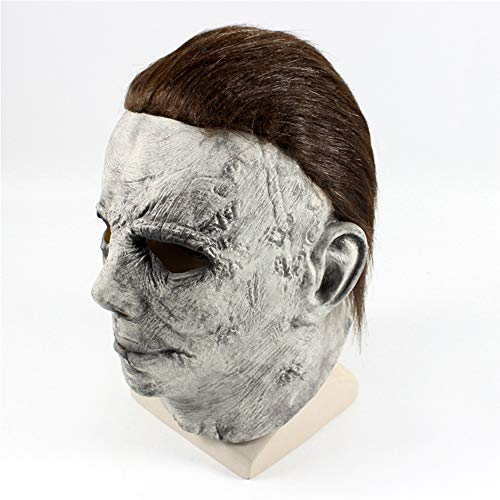 Horrgasd Máscara De Halloween, Michael Myers, Máscara De Látex Natural De Halloween
