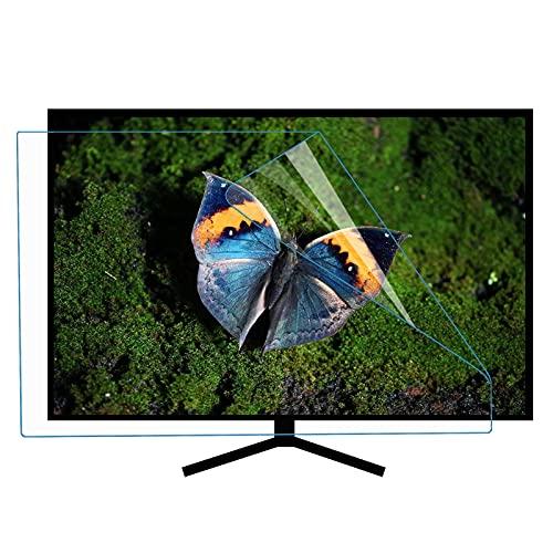 ZLSD Anti Blue Light 60-65 Pulgadas TV Protector De Pantalla, HD Anti-arañazos Película Suave, Sin Burbuja, Protector De Pantalla Ultra Claro, No Antideslumbrante,HD-60inch(1327x749MM)