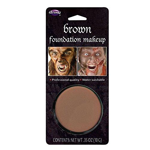 Brown Makeup - 10gm Blister Halloween Face Paint