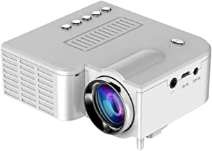 URMAGIC UC28 Mini Projector,Portable Mini LED Video Projector Home Theater Supporting HD 1080P 20,000 Hours Lamp Life Compatible with AV/USB/SD/VGA/HDMI/IR