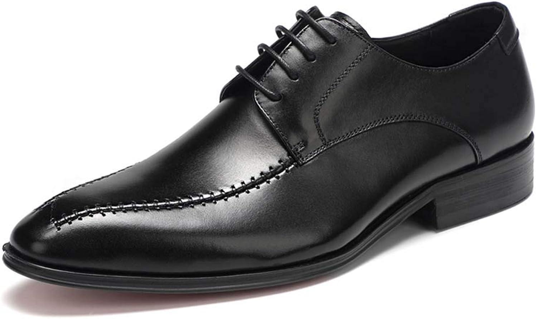 XLY Handgemachte Herrenschuhe Sommerleder Herren Schuhe England binden Kleiderschuhe  | Neuer Eintrag