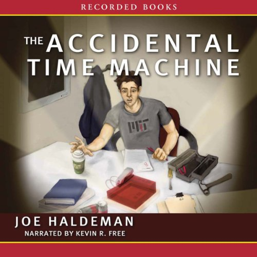 The Accidental Time Machine audiobook cover art