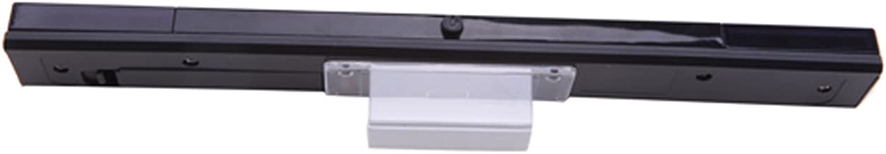 HDE Wireless Infrared IR Ray Motion Sensor Bar for Nintendo Wii and Wii U Console (Black)