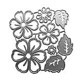 CAFFAINA Flor Pétalo Troqueles de Corte de Metal Plantilla Scrapbooking �lbum de Bricolaje Sello Tarjeta de Papel