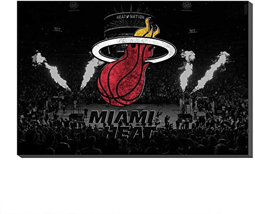DINGDONG ART Pintura De La Lona 40x50cm Sin Marco NBA Los Angeles Lakers Miami Heat Indiana Pacers Los Angeles Clippers Memphis Grizzlies Poster Picture Prints