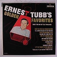 ERNEST TUBB - golden favorites DECCA 4118 (LP vinyl record)