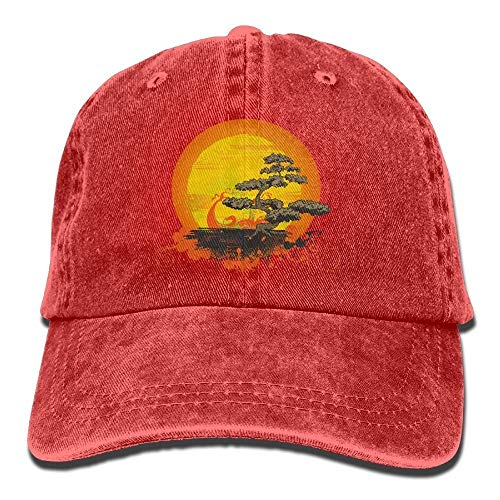 Agoyls Gorra Trucker Cap Gorra béisbol Transpirable Have You Shop Bonsai Tree Female Baseball Cap Plain Adjustable Lightweight Breathable Soft Denim Jean Hat