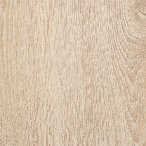 BODENMEISTER BM75002 Klick Laminat-Boden Holzoptik, rundum gefast 4 V-Fuge, Dielenoptik Eiche/hell weiß/Grau, 2175 x 243 x 8 mm