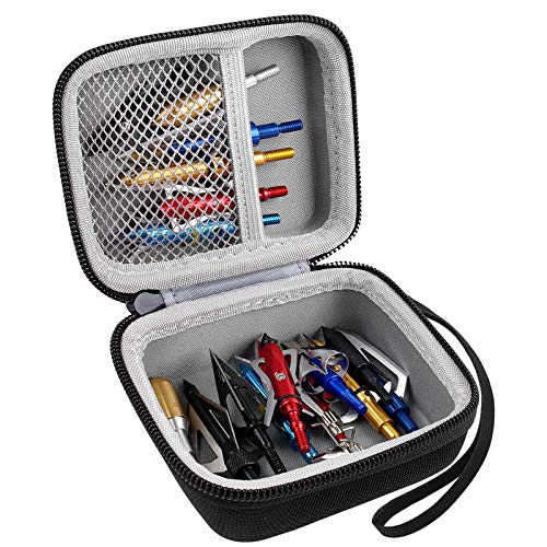 PAIYULE Broadheads Case, Archery Accessories Storage Box, Fits for Rage, Crossbows Accessory, Aiskaer, Helios for Hunting(CASE ONLY)
