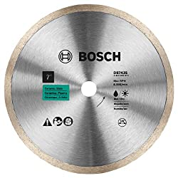 cheap Bosch DB743S 7 inch diamond blade with solid edges