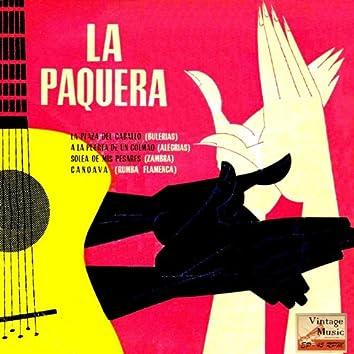 """Vintage Flamenco Cante Nº 56 - EPs Collectors, """"La Paquera"""""""