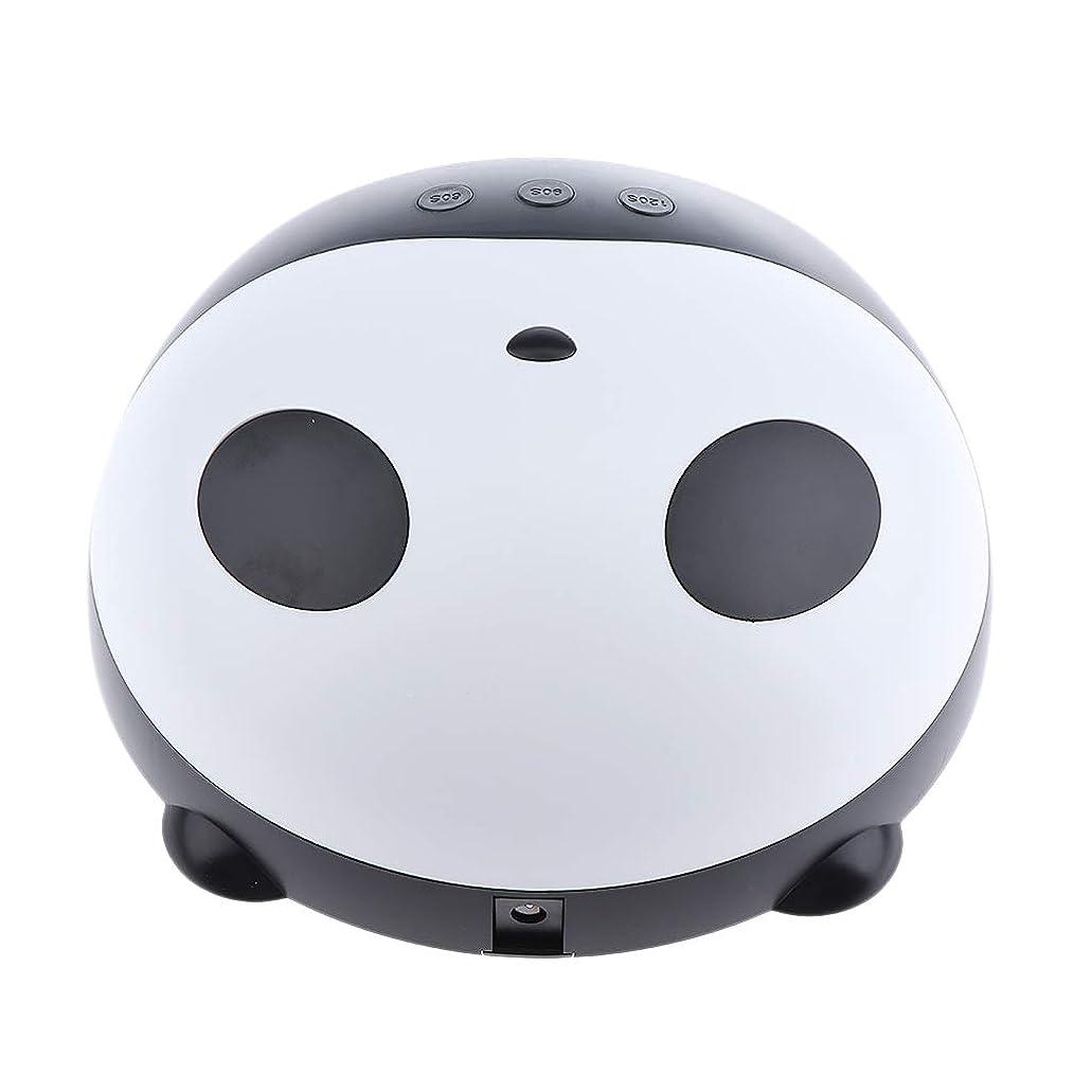 困惑ペットストリームB Blesiya ネイルランプ UV硬化灯 乾燥機 可愛い パンダ ネイルアート LEDゲル UVゲル