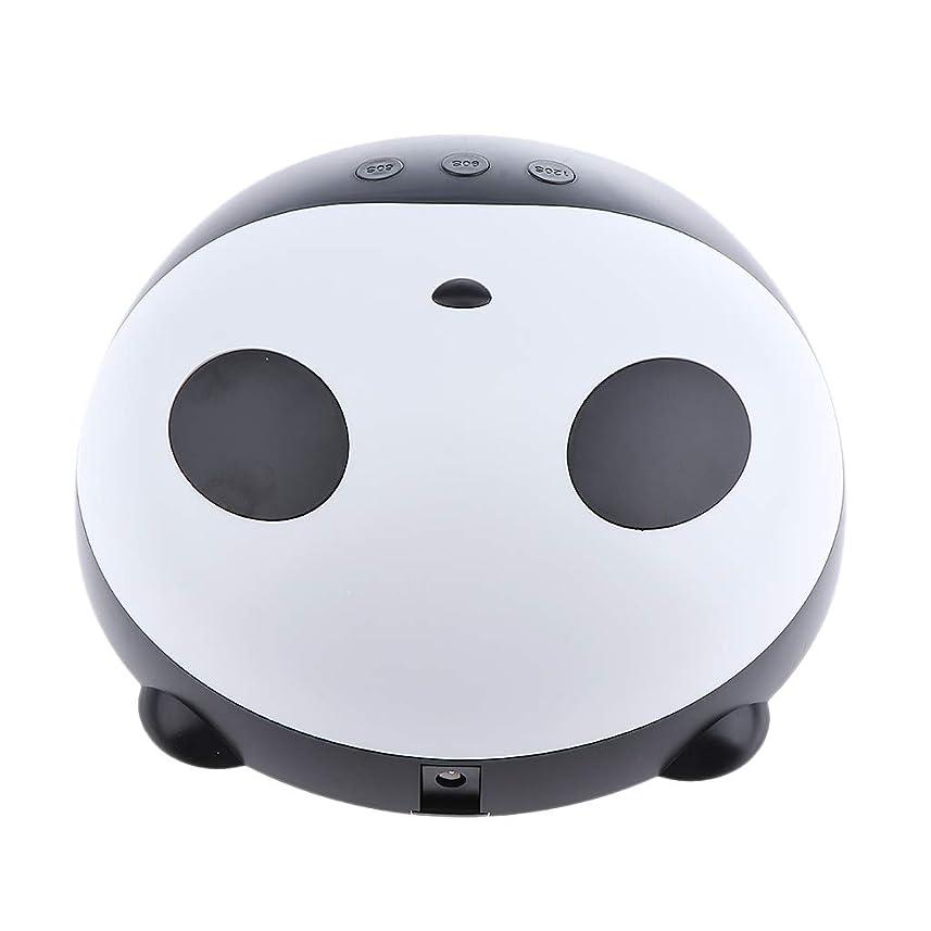 スリム惑星アドバイスB Blesiya ネイルランプ UV硬化灯 乾燥機 可愛い パンダ ネイルアート LEDゲル UVゲル