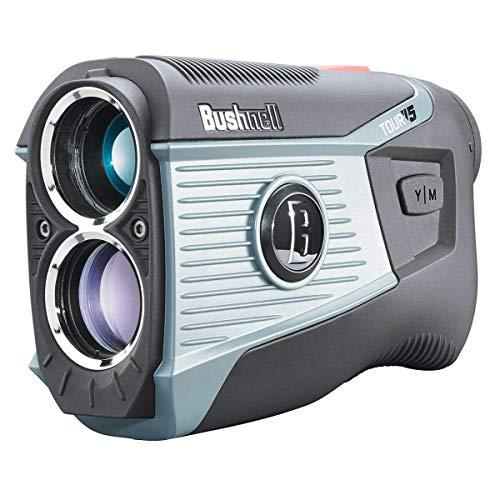 Bushnell Golf Tour V5 Laser-Entfernungsmesser, Grau/Schwarz, Einheitsgröße