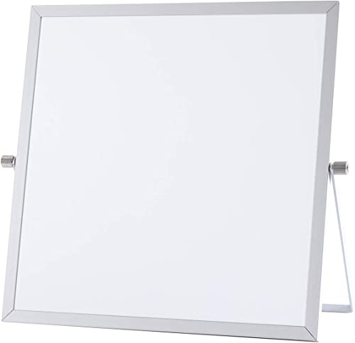 2021 Small Dry Erase outlet online sale White Board - Desktop Mini Portable Whiteboard Easel (10 x sale 10 Inches) outlet online sale