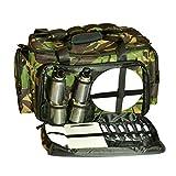CDE Bolsa térmica para pesca, picnic, pesca, camping, carpas, accesorios