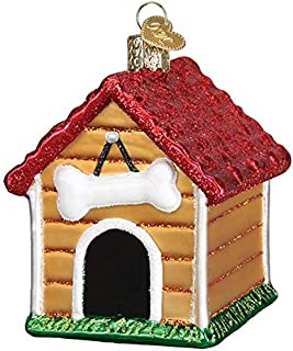 Old-World Christmas Glass Blown Ornament with S-Hook and Gift Box, Animals Selection 20113