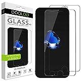 Dooloo Ultraglas HD Panzerglas [2 Stück] kompatibel mit iPhone 6S, iPhone 6 Kratzfeste Panzerfolie 9H Hart Glas Folie mit optimalem Bildschirmschutz blasenfreie Schutzfolie