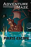 Adventure Maze by River Hill Games | Activity Puzzle Game, Folding Maze Sticker & Story Maze for Kids & Adults - Pirate Escape, Pirate Theme