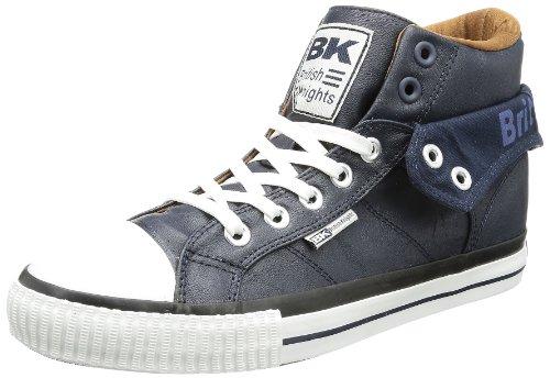 British Knights B32-3730, Chaussures Mixte Adulte - Bleu - Bleu (Navy/Cognac/Blue 2), 44 EU EU