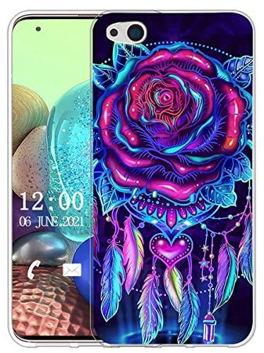 Sunrive Hülle Kompatibel mit ZTE Nubia Z9 Max Silikon, Transparent Handyhülle Schutzhülle Etui Hülle (X Traumfänger)+Gratis Universal Eingabestift MEHRWEG