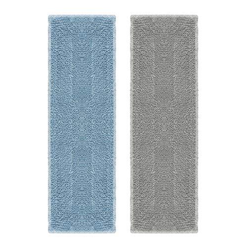 Polti Moppy - Kit 2 paños de microfibra para la limpieza y secado de vidrios, espejos y cristales