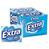 EXTRA Peppermint Sugar Free Chewing Gum 15 Pieces (10 Pack)