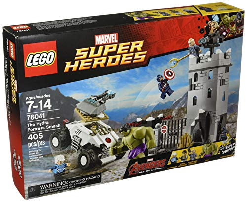 LEGO Marvel Super Heroes Avengers The Hydra Fortress Smash Set #76041