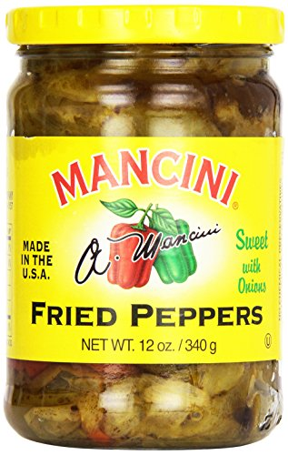 Mancini Fried Pepper With Onion 12 Ounce 6 Per Case.