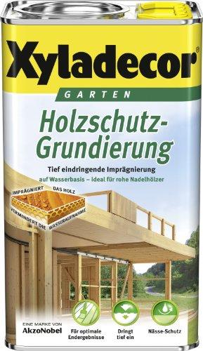 Xyladecor Holzschutz Grundierung wasserbasiert 5 Liter