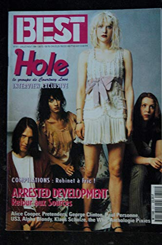 BEST 311 Juillet 1994 HOLE le groupe de Courtney Love Alice COOPER Pretenders Paul Personne the WHO