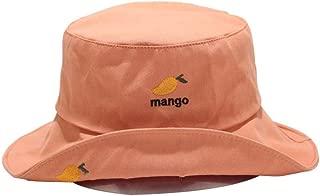 LAAT 1Pcs Chapeau Bob Mignon Fruit Chapeau de P/êcheur Chapeau de Seau Chapeau en Coton de Soleil de Protection Unisexe Adulte