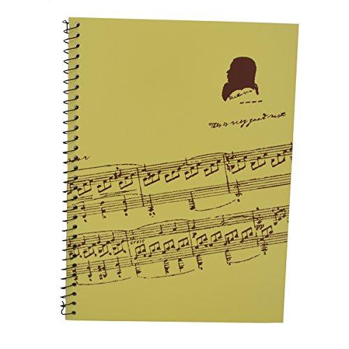 Punk muziek-manuscript-papier met 40 pagina's muziek lege pagina's muziek-notitieboek Music Sheet White