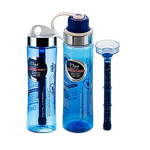 Mymi BlueBlue Alkaline Mineral Water Filter Bottle