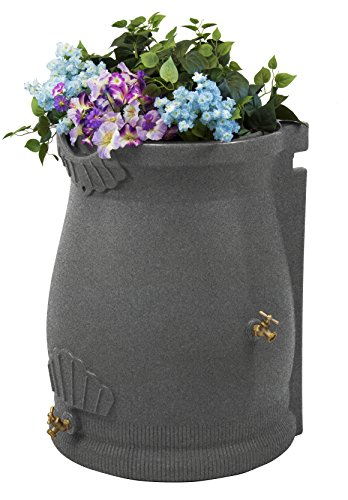 Good Ideas RWURN50-LIG Rain Wizard Rain Barrel Urn