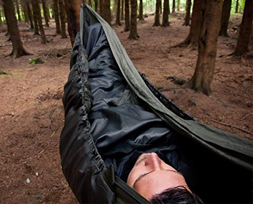 Snugpak | Hammock Quilt | Hammock Accessories | Insulated Hammock Sleep System (Olive)