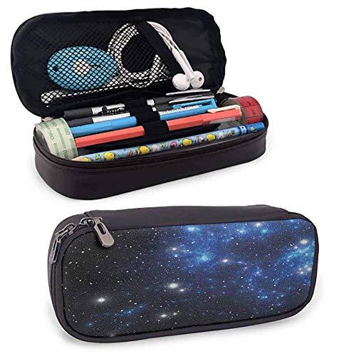 Sternbild Bleistiftbeutel Stiftetui Weltraumsternnebel Astralhaufen Astronomie Thema Galaxie Rätsel Glatte Reißverschlüsse, wasserdicht