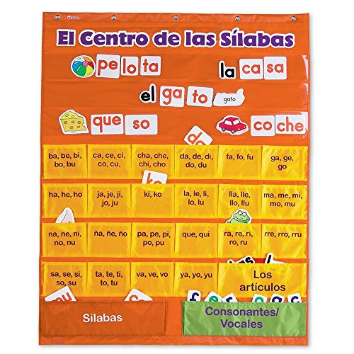 Learning Resources Fichero El Centro de las Silabas