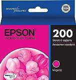 Epson T200320 OEM Ink - (200) Home XP-400 200 Workforce WF-2530 WF-2540 DURABrite Ultra Magenta Ink OEM