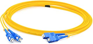 AddOn 2m Single-Mode Fiber (SMF) Simplex SC/SC OS1 Yellow Patch Cable ADD-SC-SC-2MS9SMF