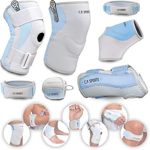 C.P. Sports Kniebandage XL – Deluxe Bandage, atmungsaktiv & antibakteriell – Hand, Fuß, Arm, Ellenbogen, Knie – bei Gelenkbeschwerden, Knieschmerzen, Tennisarm – für Sport & Fitness