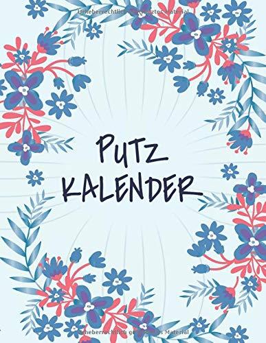 Putzkalender: Haushaltsplaner für Familien und Paare mit Kindern - Hausplan und Putzplaner mit 100+ Seiten - Familien-Organizer und Familienplaner