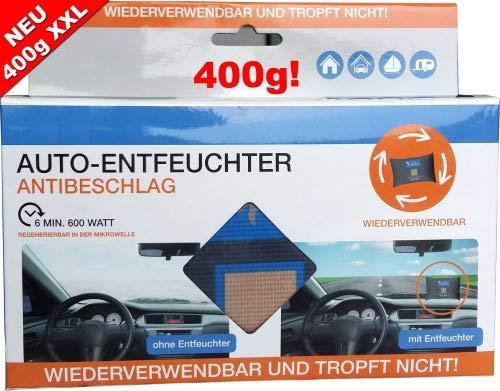 Lafita Autoentfeuchter Auto Entfeuchter Granulat Luftentfeuchter XL 400g