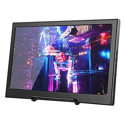 Docooler 11,6 Zoll HD Monitor 1920 * 1080 IPS-Panel PS3 PS4 Xbox360-Bildschirm-Monitor für Raspberry Pi Windows 7 8 10 EU-Stecker (Dicke 17 mm)
