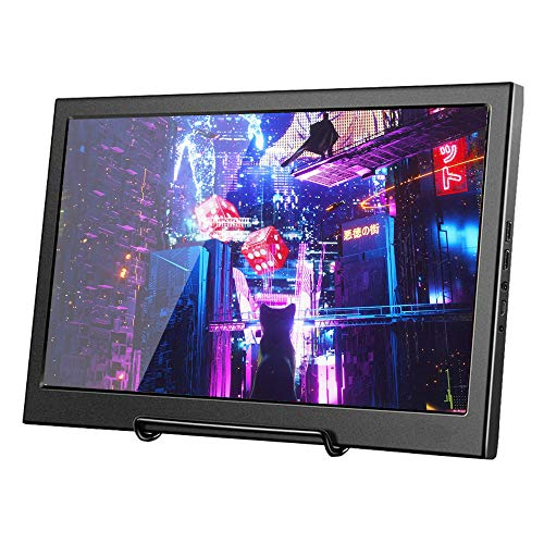 Docooler Monitor 11,6-Zoll 1080P Tragbarer für 1920X1080 IPS-Panel PS3/PS4/Xbox360/Raspberry Pi/Windows 7/8/10 EU-Stecker