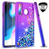 LeYi Galaxy A8S Case with Tempered Glass Screen Protector