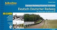 """Europa-Radweg Eiserner Vorhang / Europa-Radweg Eiserner Vorhang Deutsch-Deutscher Radweg: Am """"Gruenen Band"""" von Luebeck nach Hof, 1.100 km, 1:85.000, wetterfest/reissfest, GPS-Tracks Download, LiveUpdate"""