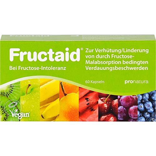 Fructaid Kapseln bei Fructose-Intoleranz, 60 St. Kapseln