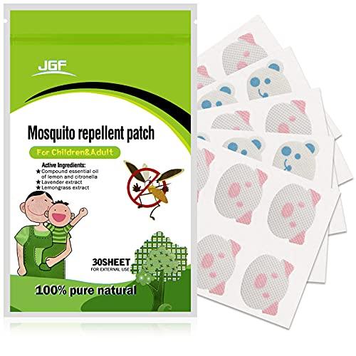 Aiooy Parche Repelente de Mosquitos,Antimosquitos Bebés,Previene Las picaduras de Mosquitos